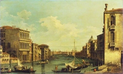 Venice: The Grand Canal from Campo San Vio towards the Bacino