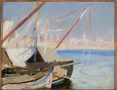 View of Constantinople. From the journey to Constantinople