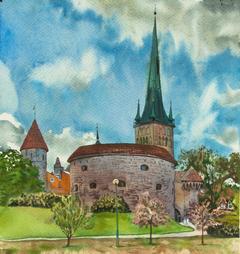 View of Tallinn.
