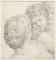 Vrouw en twee kinderen