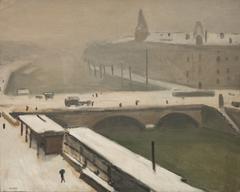 Winter by the Seine