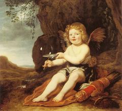 A Boy as Cupid - 1644