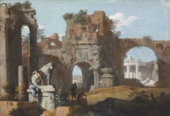 A Classical Landscape with Ruins
