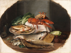A Still Life with Fish