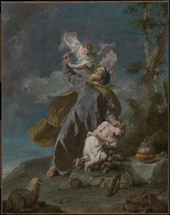 Abraham Sacrificing His Son Isaac