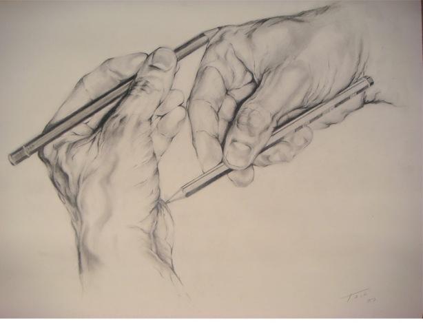 Alone are drawn