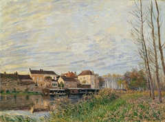 An Evening in Moret, End of October