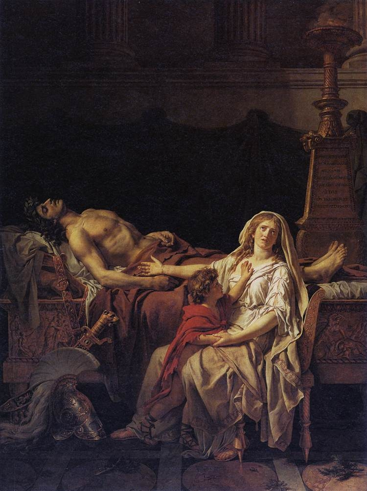 Andromache Mourning Over the Body of Hector