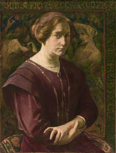 Anna Filiabella, portrait de la femme de l'artiste