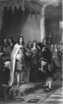 Anno 1676. Cornelis Tromp wordt tot graaf van Syllisburg verheven
