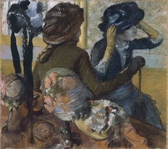 At the Milliner's (Dans la chapellerie)