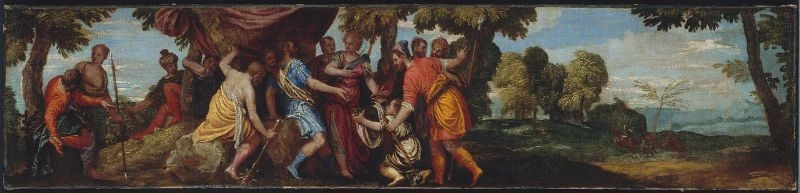 Atalanta Receiving the Boar's Head from Meleager