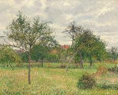 Autumn, Morning, Cloudy, Eragny