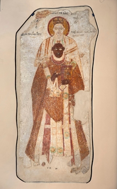 Bishop Petros with Saint Peter the Apostle