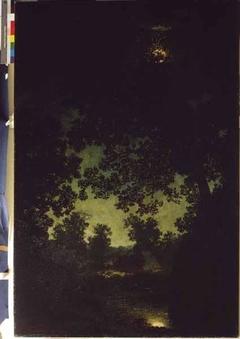 Brook by Moonlight