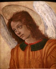 Bust of an angel