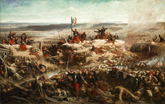 Capture of the Tower of Malakoff by General Mac-Mahon, September 8, 1855