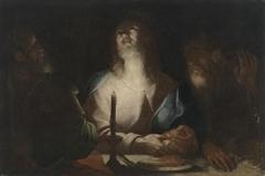 Christus in Emmaus (?)