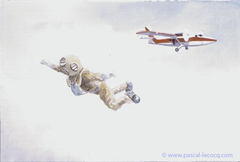 CHUTE LIBRE - Free fall - by Pascal