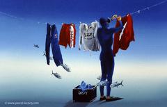 CORDES A LINGE - Clothes line - by Pascal