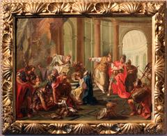 Crassus sacks the temple of Jerusalem