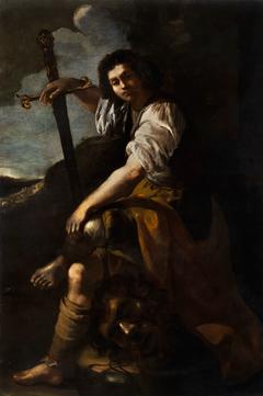 David and Goliath (Artemisia Gentileschi)