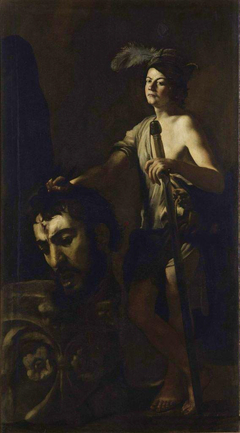 David with Goliath's Head