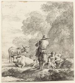De fluitspelende herder
