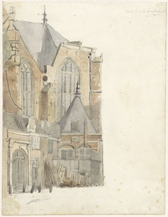 De Oude Kerk te Amsterdam