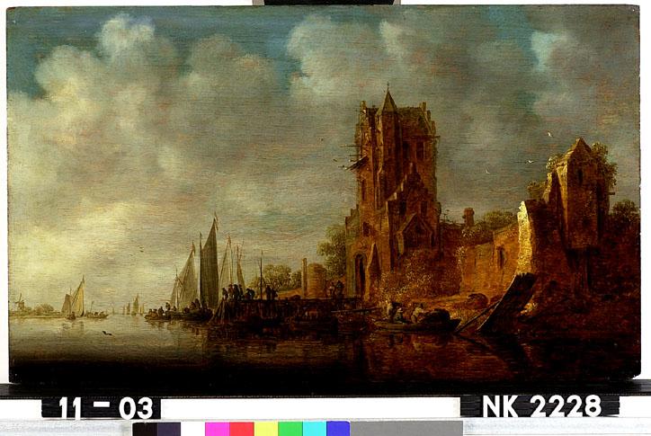 De Pellekussenpoort aan de Vecht bij Utrecht