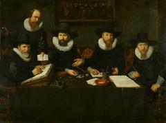 De regenten van het Spinhuis