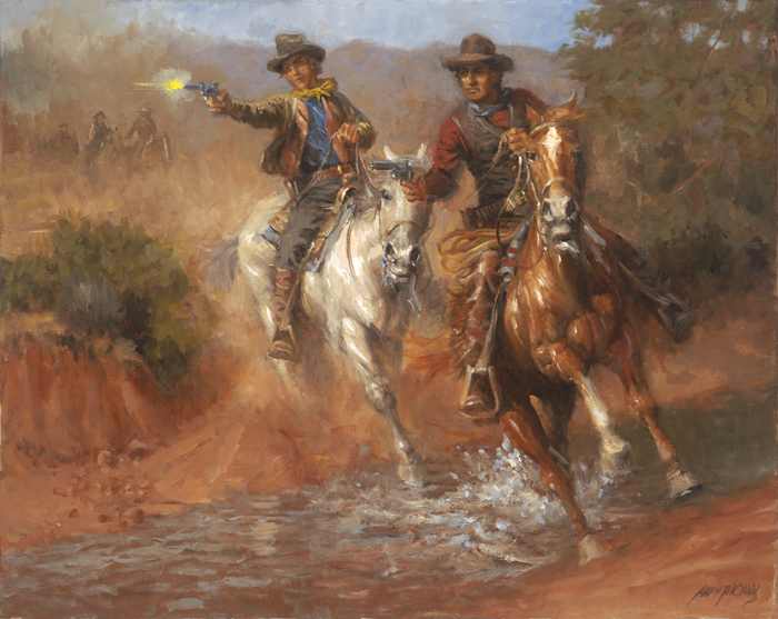 Dick Brewer, Billy the Kid and the Regulators