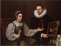 Double Portrait of a Knight of Santiago and a Lady