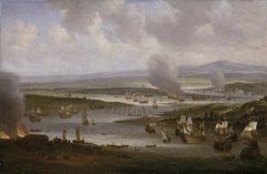 Dutch Ships in the Medway, June 1667