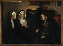 En visite, soeurs quêteuses