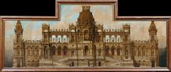 Entwurf für einen Palast: Fassade