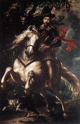 Equestrian Portrait of Giancarlo Doria