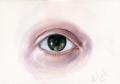 Eye, watercolours