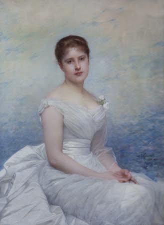 Frances Margaret Lawrance, Lady Vernon (d 1940)