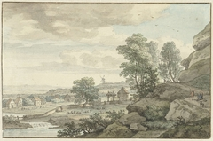 Gezicht in de omgeving van Bentheim