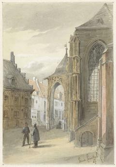 Gezicht te Nijmegen