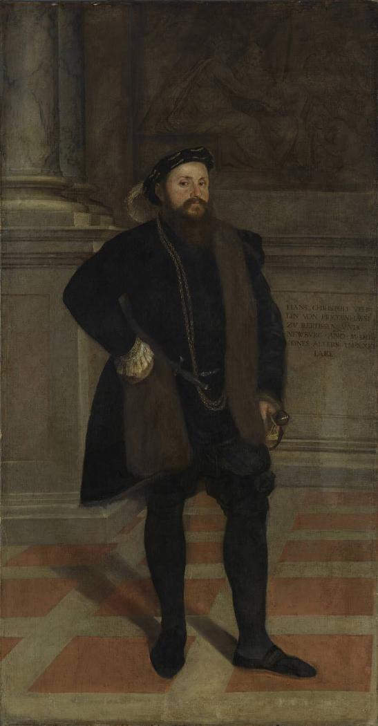 Hans Christoph I. Vöhlin von Frickenhausen (1522-1576)