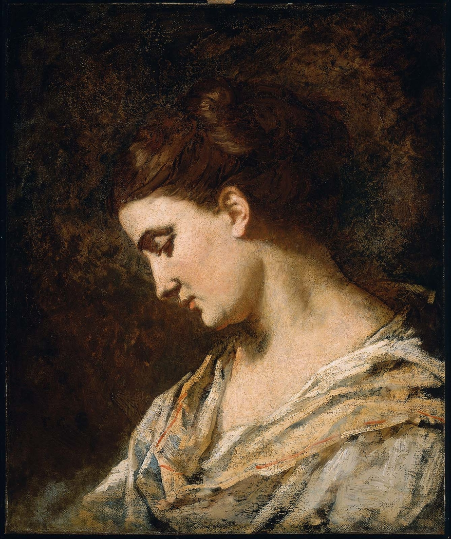 Head of a Woman in Profile