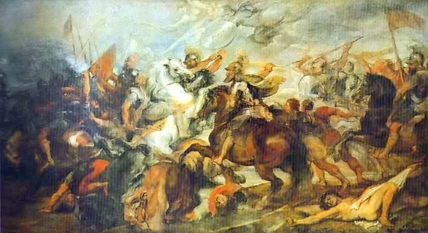 Henry IV at the Battle of Ivry