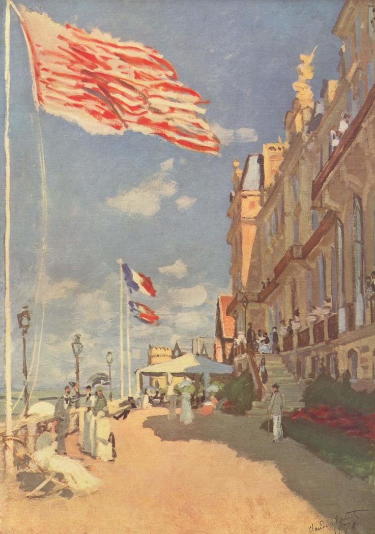 Hôtel des Roches Noires. Trouville