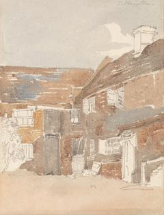 Houses at Teddington on the Thames