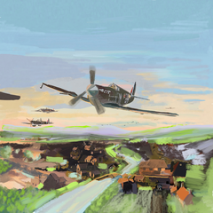 Hurricanes on the Hunt, July 1940