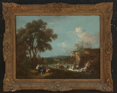 Ideal Landscape with Figures