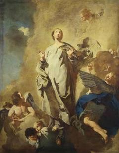 Immacolata Concezione con angeli