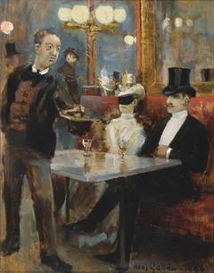 In a Café in Paris